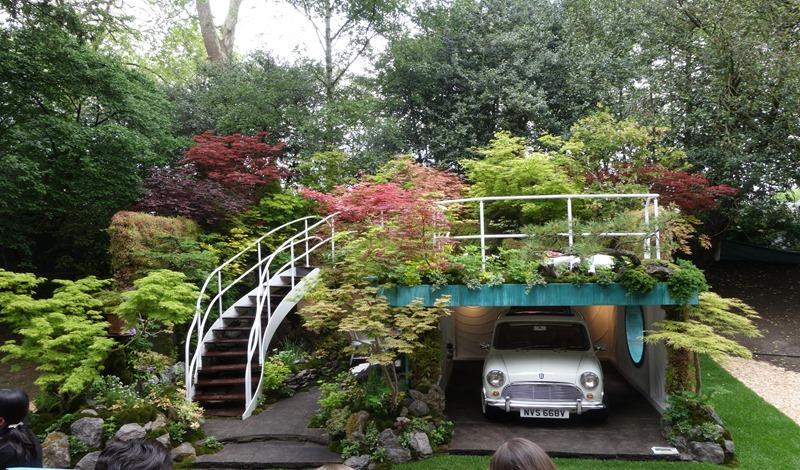 Grøn garage (1)