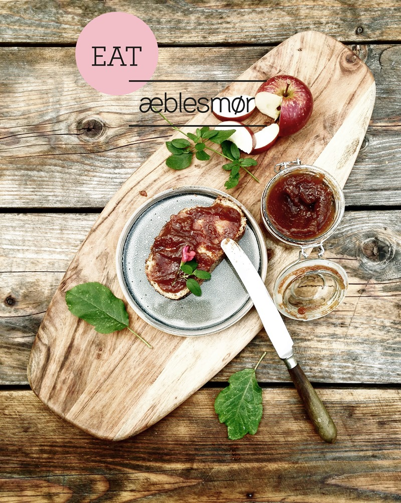 EAT Æblesmør Foto og styling Dorthe Kvist Meltdesignstudio