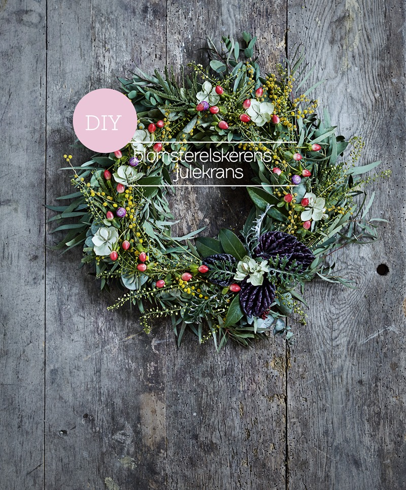 DIY Blomsterelskerens julekrans Foto Martin Sølyst Styling Dorthe Kvist Meltdesignstudio 1 (2)