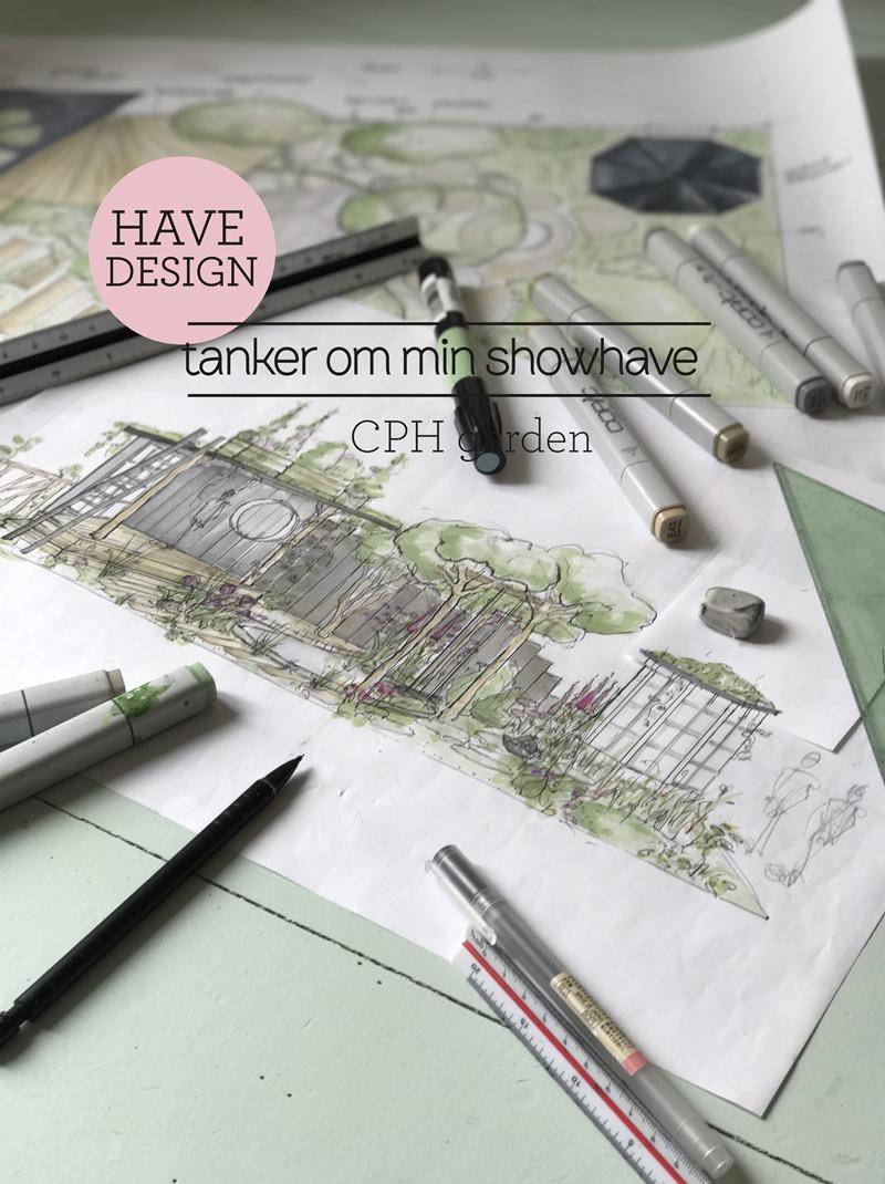 Havedesign tanke rom min showhave CPH garden Dorthe Kvist Meltdesignstudio