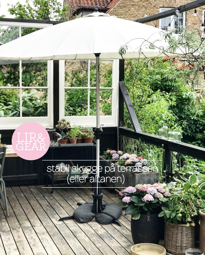 Lir og gear stabil hygge på terrassen Foto Dorthe Kvist Meltdesignstudio