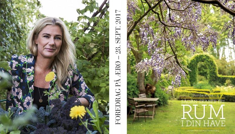 Foredrag RUM i haven Haveselskabet Ærø Dorthe Kvist Meltdesignstudio