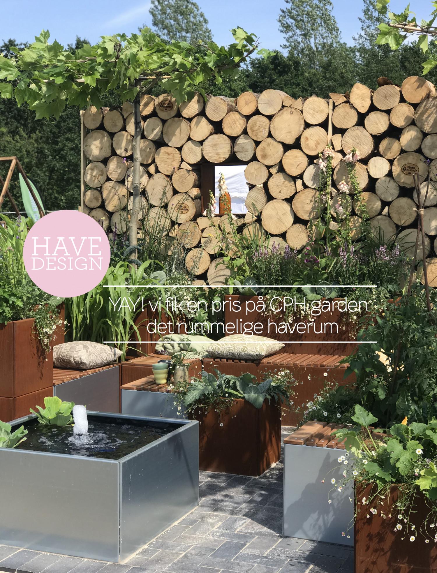 YAY! det rummelige haverum snuppede publikumsprisen på CPH garden Dorthe Kvist Meltdesignstudio