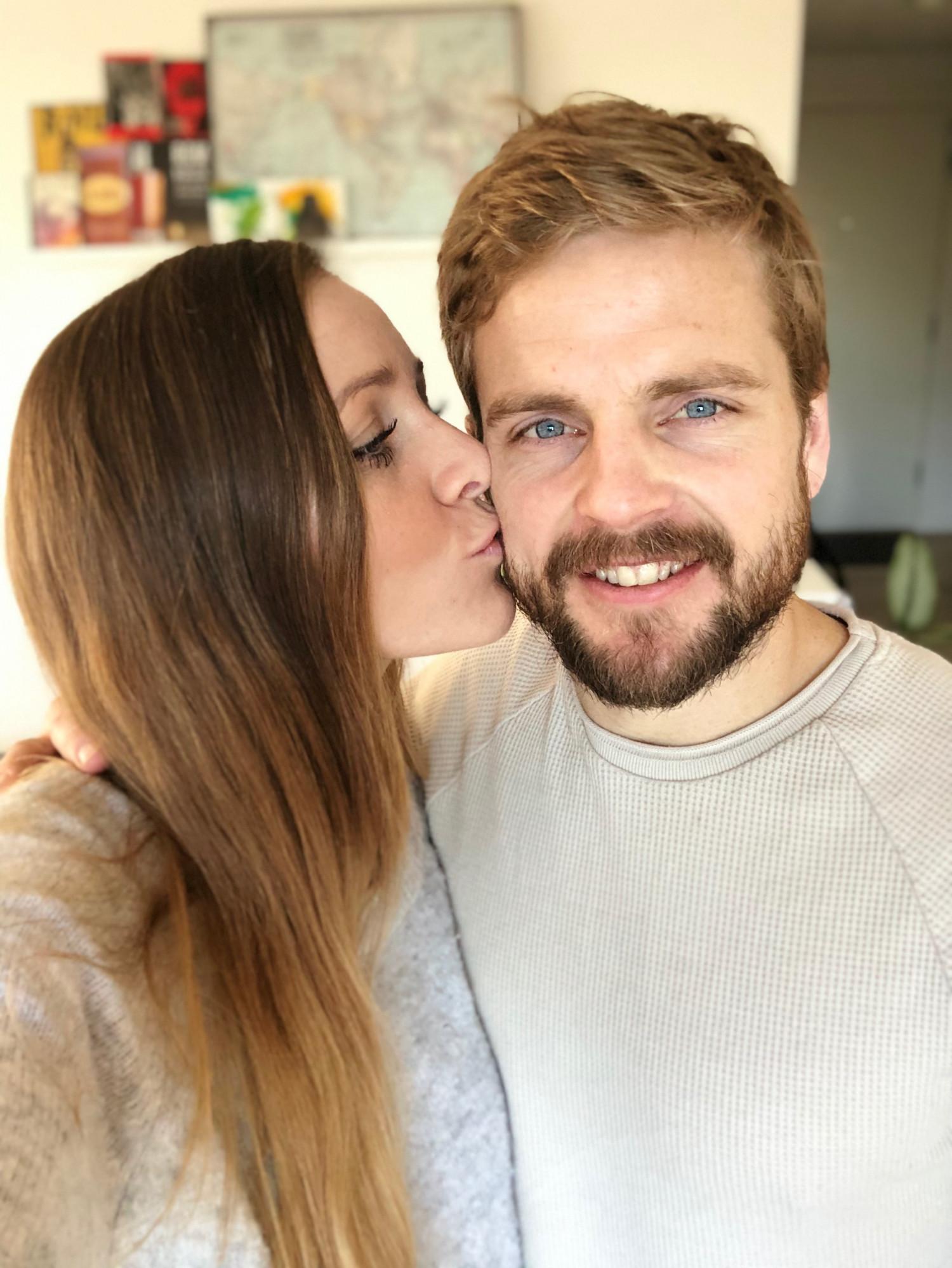 Kasper og Stephanie Fisker