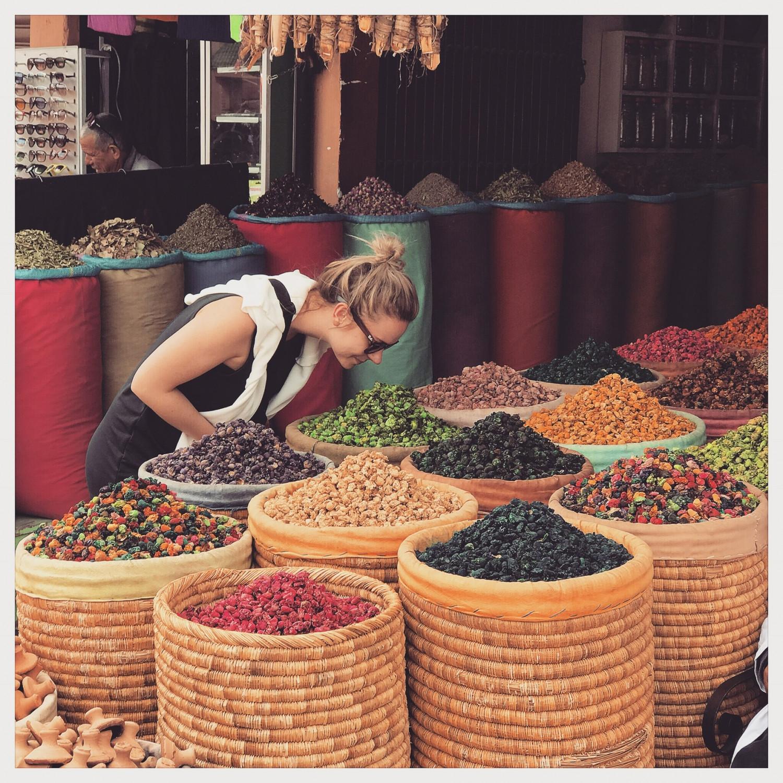 Marrakech, souken, marrokansk, Marokko,