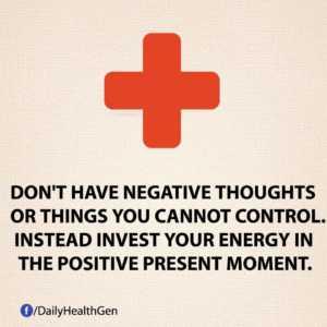 positive present moment