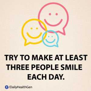 make people smile