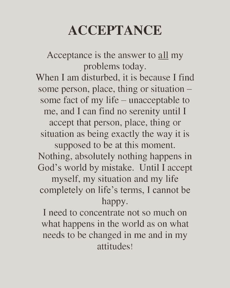 Billedresultat for acceptance of inner experience