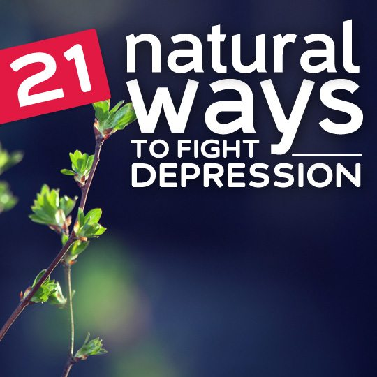 How to fight depression naturally?