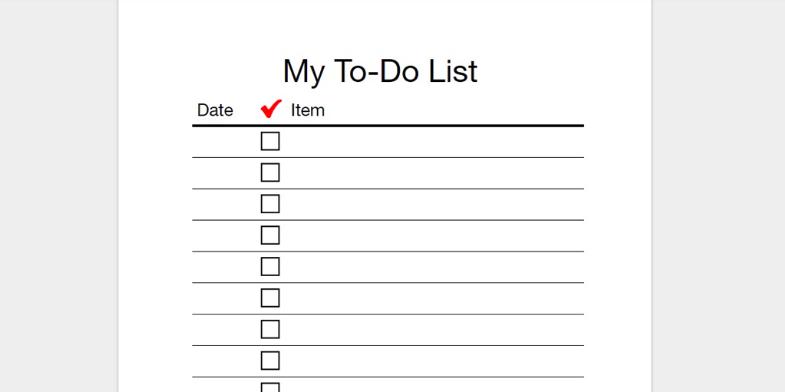 Billedresultat for to do list