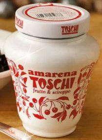 Toschi Amarena kirsebærsauce - Koster ca 60 kr i butikkerne med de er det hele værd <3