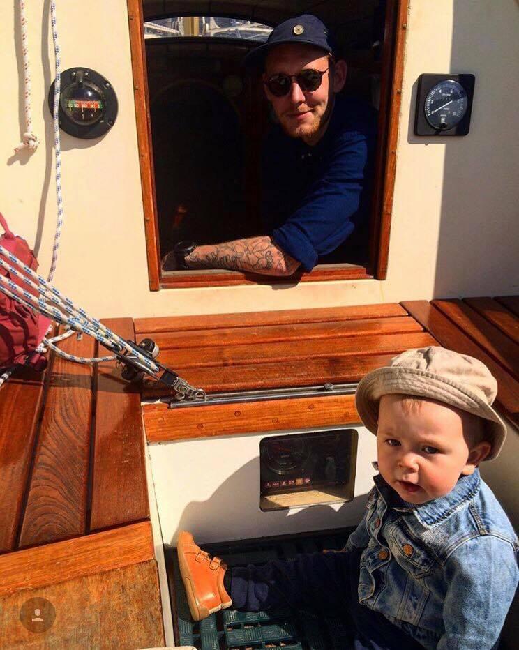Sommerdag på sejlbåden