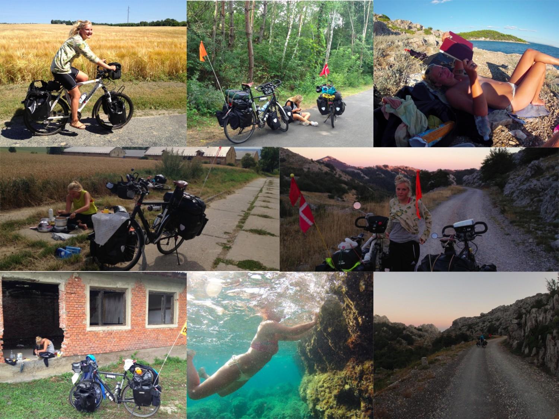 Et lille udsnit af billeder fra cykelturen Danmark-Kroatien