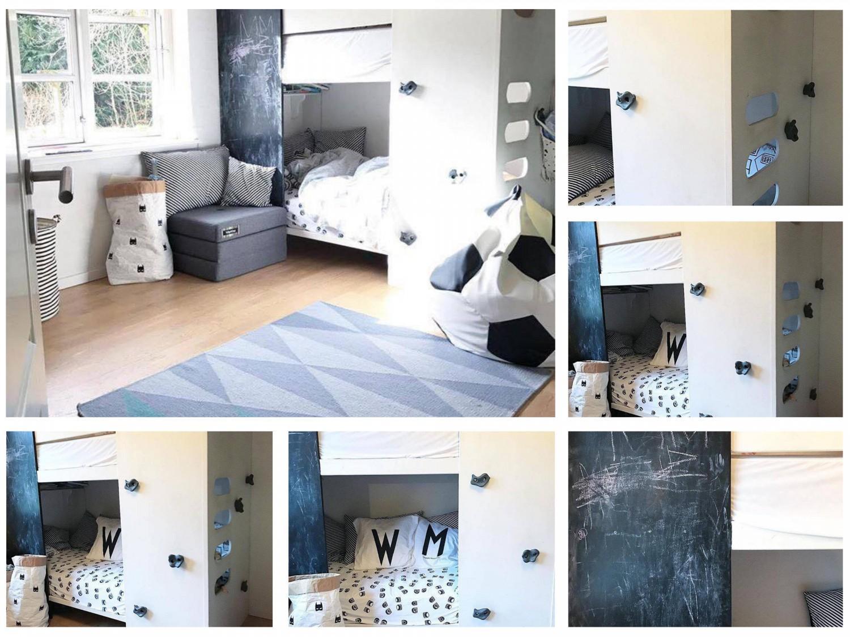 Smut forbi @minrede på Instagram - der finder i flere billeder af hendes flotte børneværelse og indretning