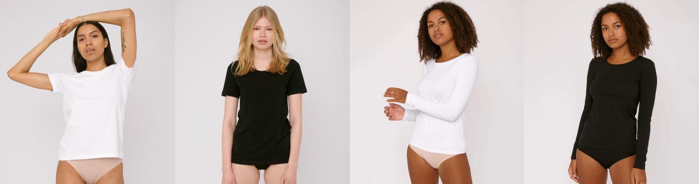 Basis tøj fra Organic Basics