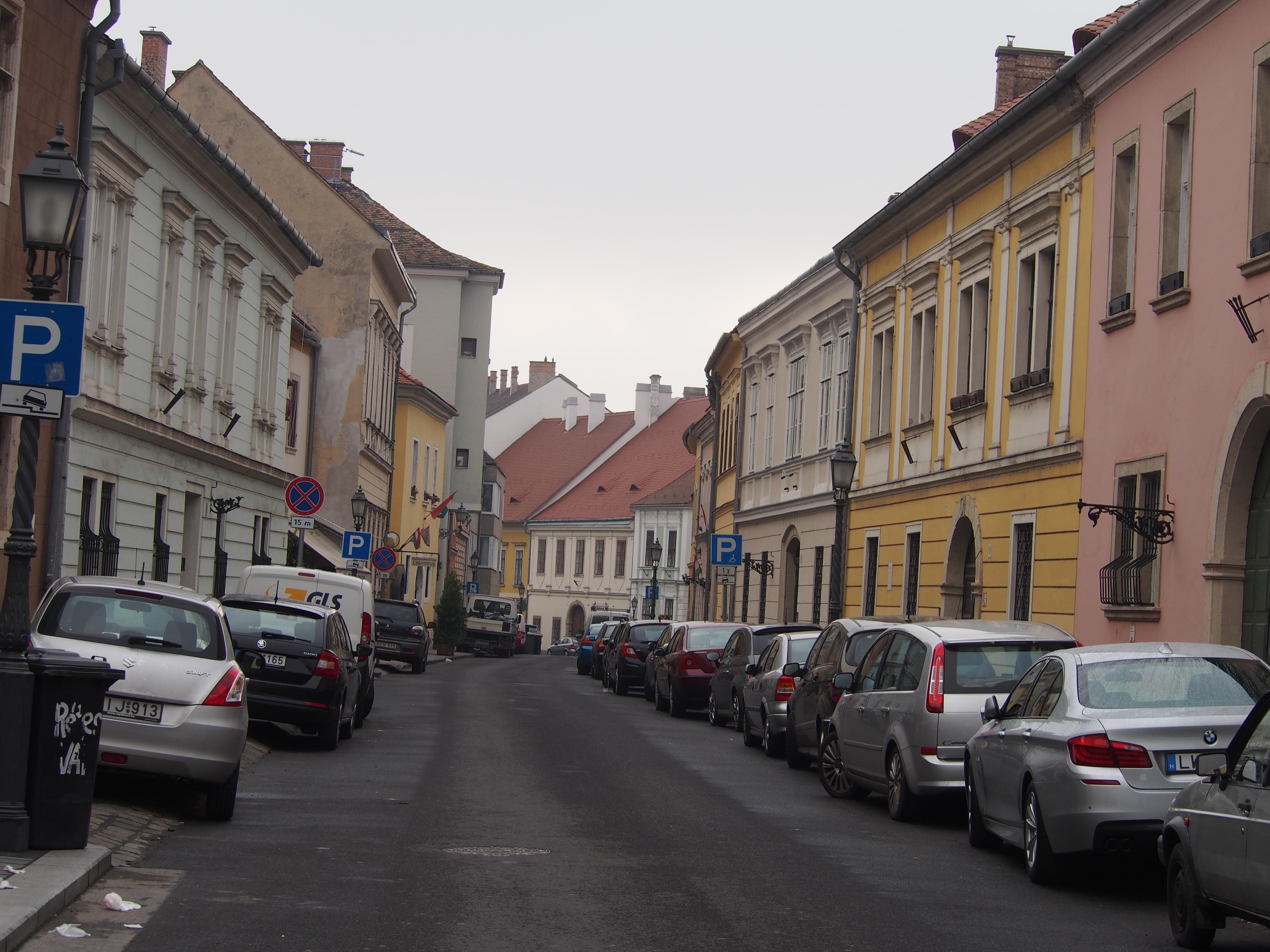 Úri Utca - vejen vi bor på i Buda