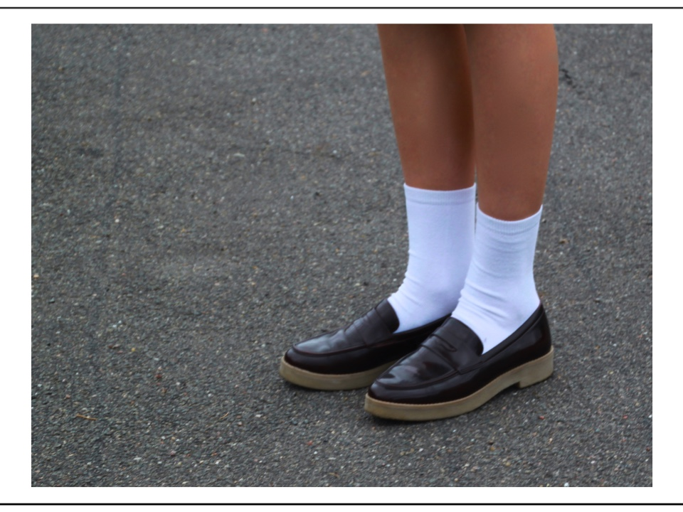 sporty ::socks in shoes