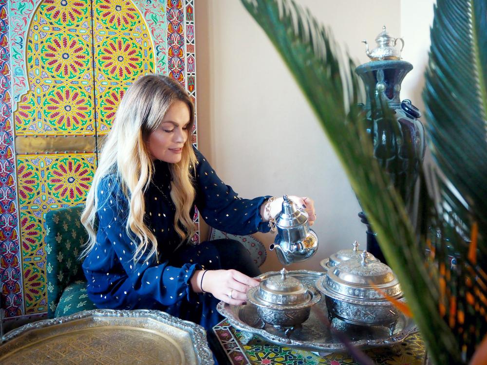 morrocan tea atlantic palace agadir