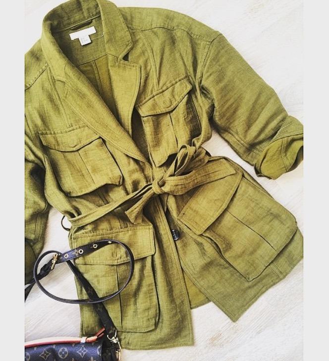 hm olive jakke1