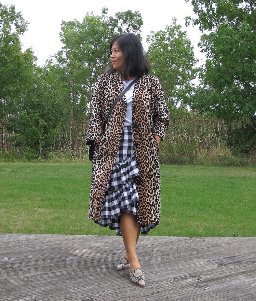 ganni leopardfrakke