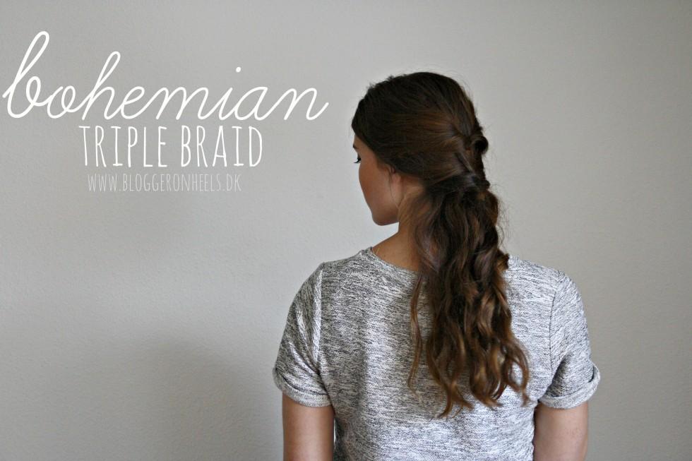 bohemian triple braid