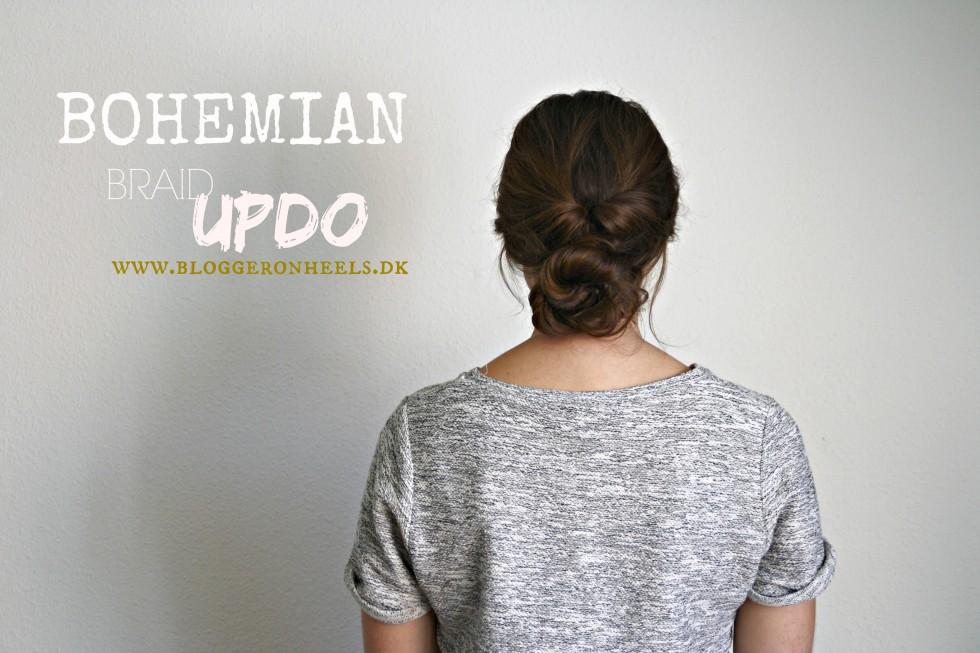 bohemian updo
