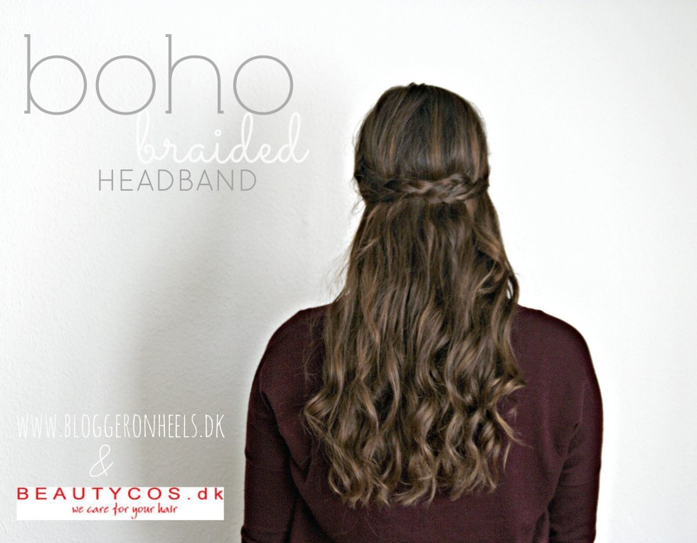 boho braided headband