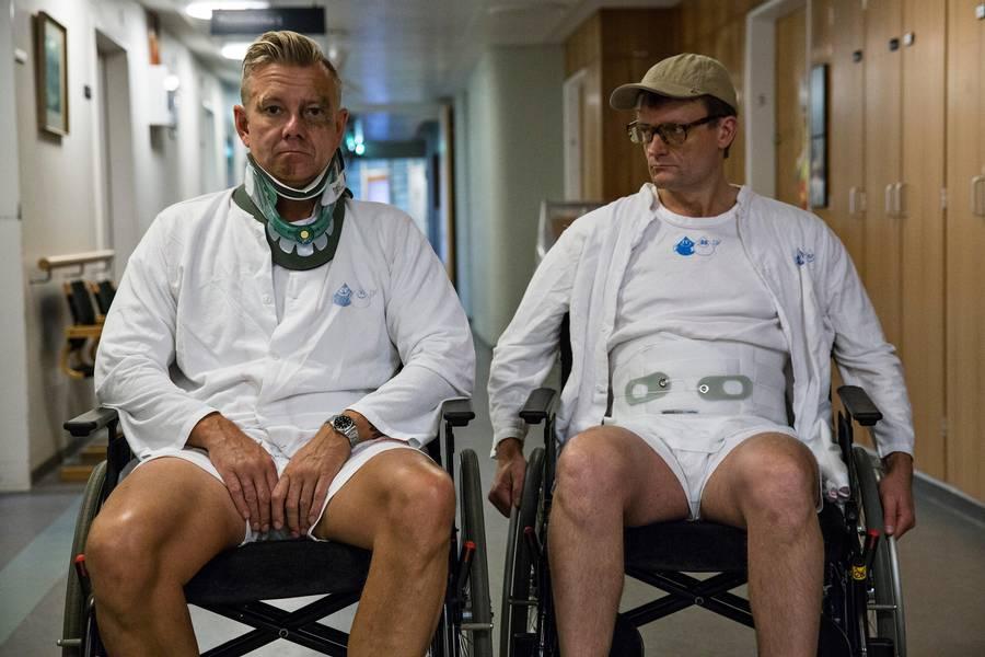 Casper Christensen og Frank Hvam. Foto af Per Arnesen