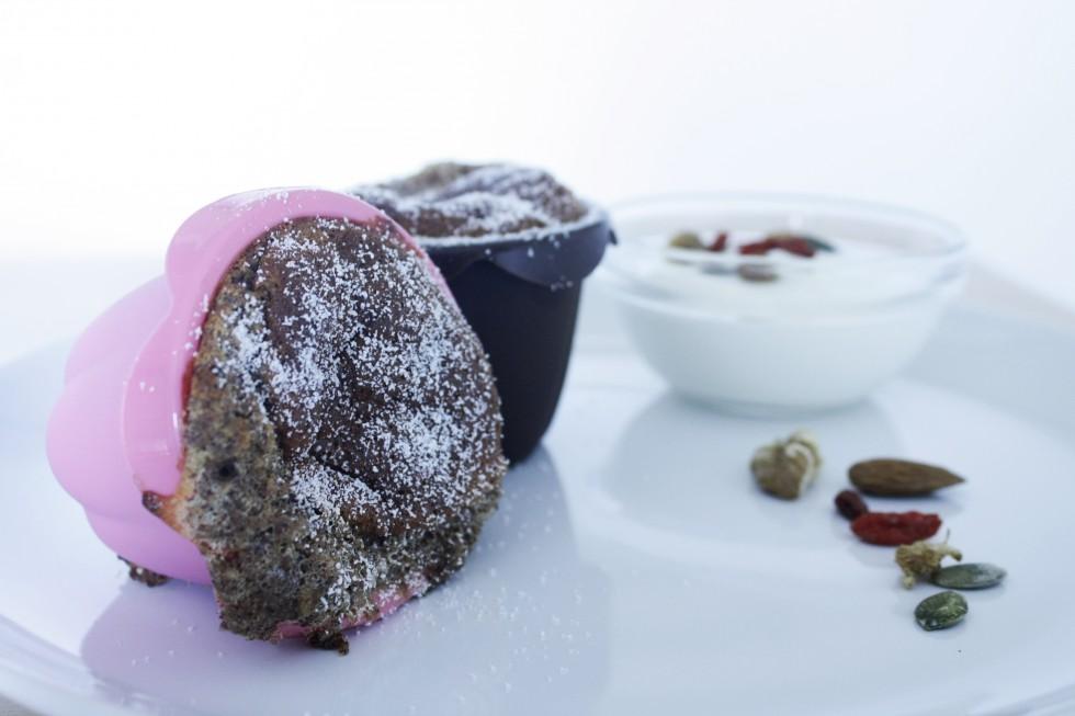 Kanel-banan-muffin