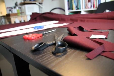 Al forberedelsen før selve syningen tager en hel masse tid, men det kan i sidste ende betale sig at gøre sig umage med denne del!