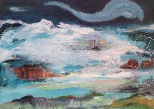 Et af mine yndlingsmalerier, som min Mormor har malet på flere gange - billede på billede kan man kalde det.