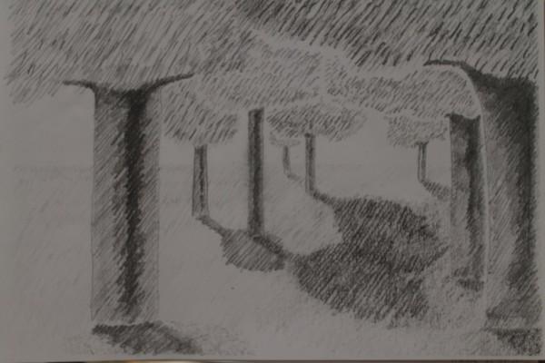 Her er der lavet et zoom af et af de tre billeder på den oprindelige tegning. Den fungerede bedst til den næste del af opgaven.
