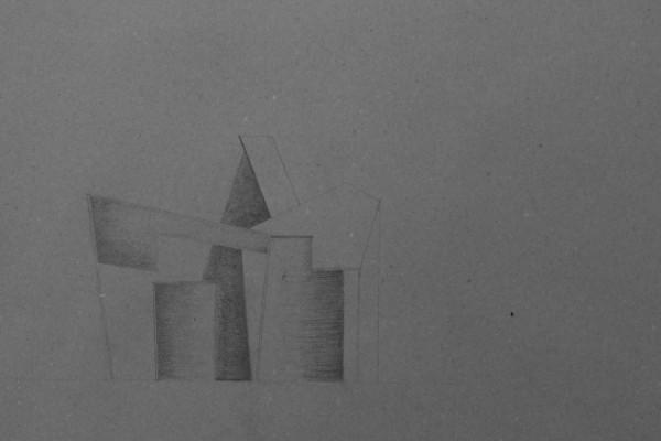 Dette er min snittegning af den sidste model, som jeg regner med at arbejde videre med. Min undeviser havde nogle små rettelser til den, ellers var han godt tilfreds med tegningen.