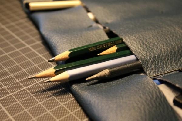 Ja, som sagt, så fik jeg samlet en del forskellige blyanter sammen under mit højskoleophold.