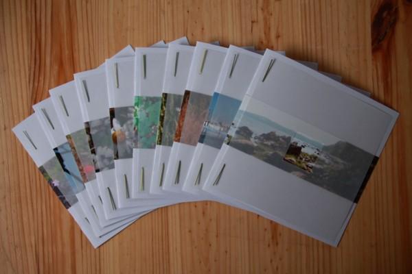 10 af de 20 store kort, som jeg også fik lavet.