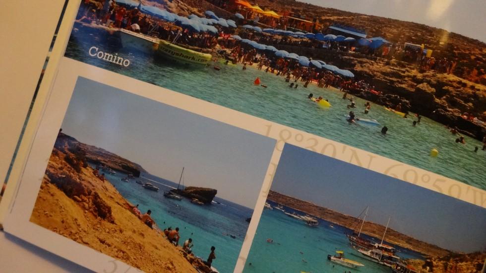 Comino Island - en lille ø mellem Gozo og Malta.