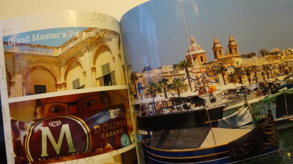 Og her er vi i Marsaxlokk i Malta.
