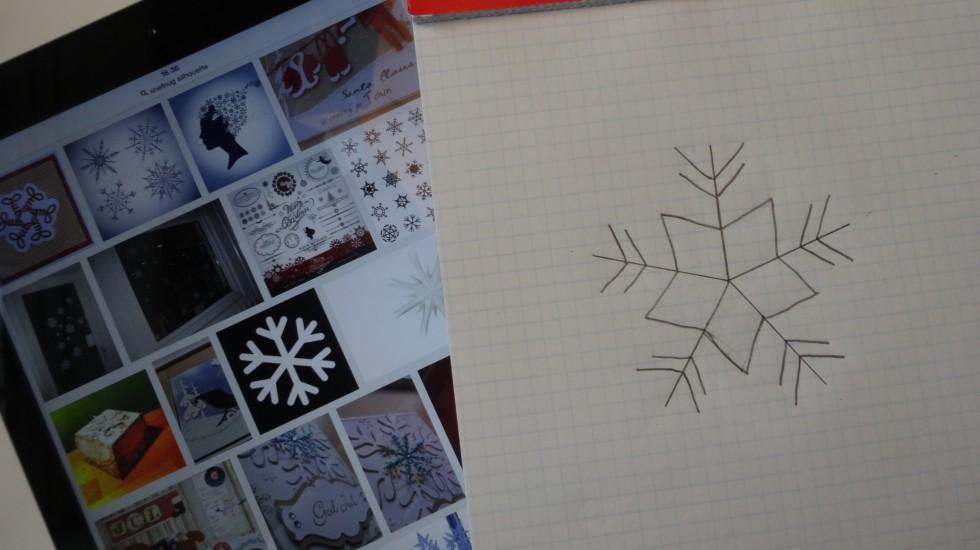 Det er jo december og snart jul, og til det hører der (i hvert fald i tankerne) sne til.