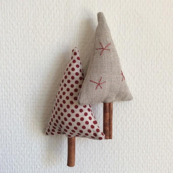 Til slut skal der bare en sytråd i toppen af juletræet, og så er den klar til at skabe julestemning :). Billedet her er fra Instagram, hvor jeg hedder mkladefoged.