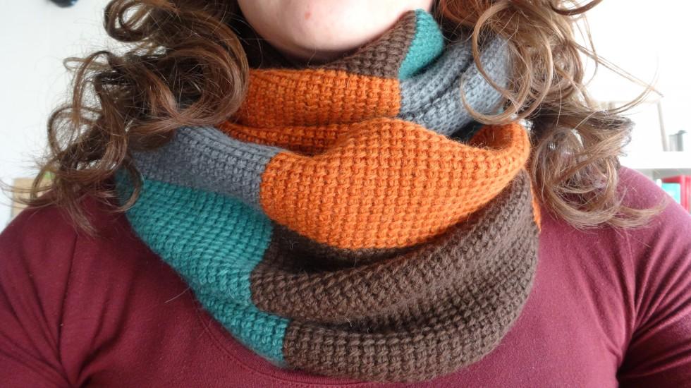 Et dejlig varmt - og ikke mindst blødt! - halstørklæde.
