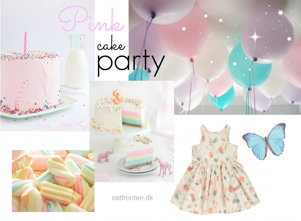 pink cake party