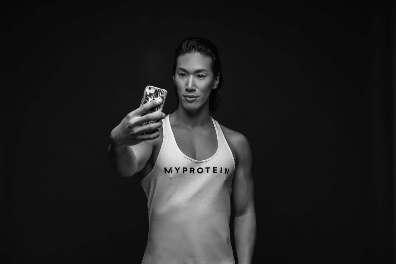 Sy Lee myprotein fitnessmodel