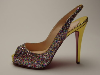 Dreaming of... Glitter heels!