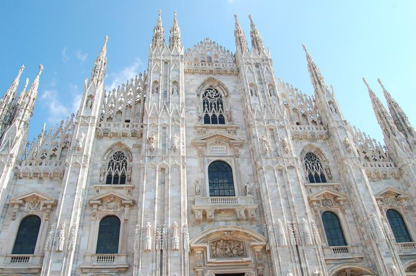 Duomo - katedralen i Milano
