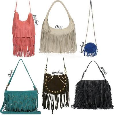 Trend: Fringe bags