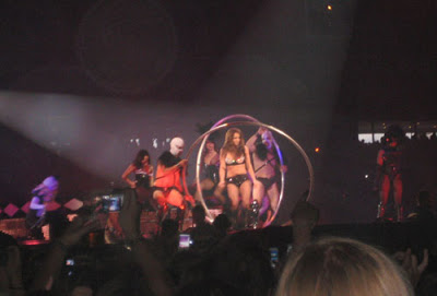 Pictures from the Britney concert