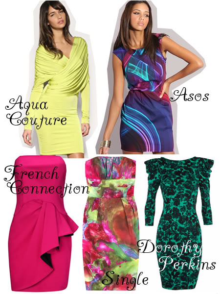 New years dresses: Colour