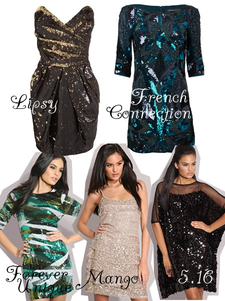 New years dresses: Embellished