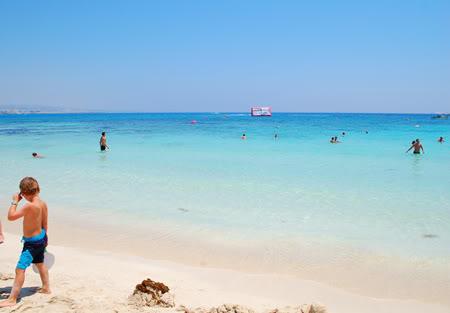 Makronissos Beach Cypern