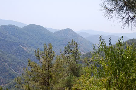 En dag i bjergene